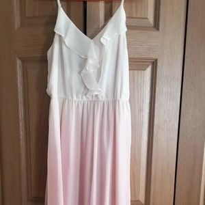 Lauren Conrad, beautiful ombré summer dress, M